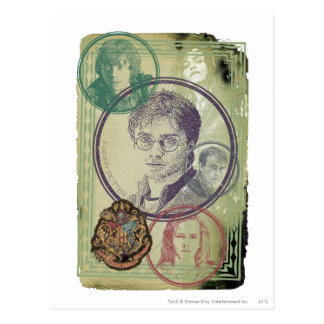 Postal Collage 9 de Harry Potter