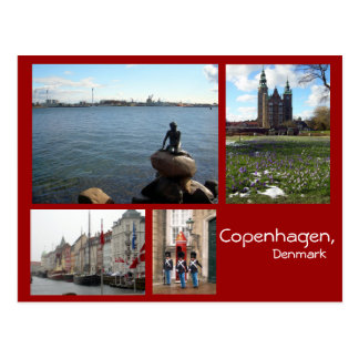 Postal Collage de Copenhague