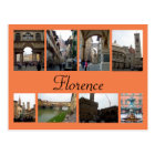 Postal Collage de Florencia