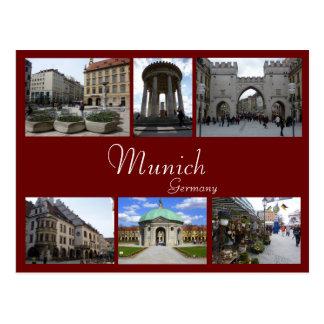 Postal Collage de Munich