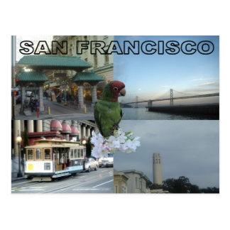 Postal Collage de San Francisco