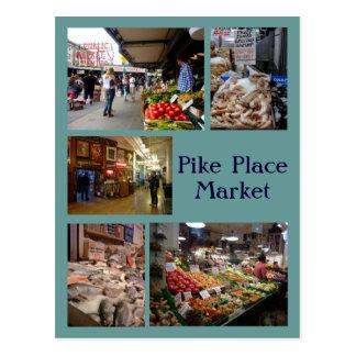 Postal Collage del lugar de Pike