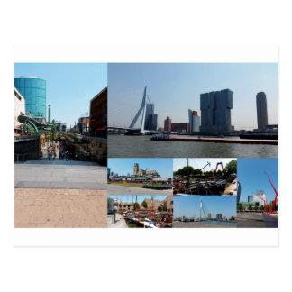 Postal Collage Rotterdam 3 de la foto