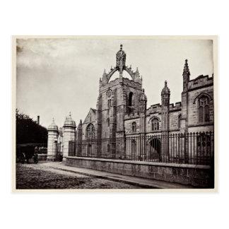 Postal College de rey - universidad de Aberdeen - vintage