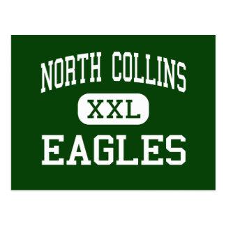 Postal Collins del norte - Eagles - altos - Collins del