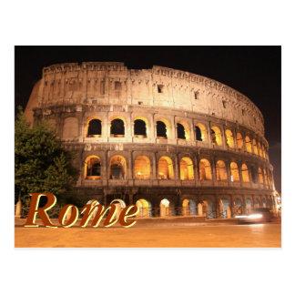 Postal Colloseum en Roma