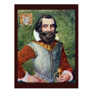 Postal Colonia de capitán John Smith Jamestown