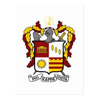 Postal Color del escudo de PKT