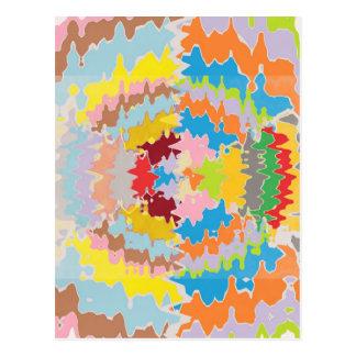 Postal Colores del arco iris de EBR:  Balance energético