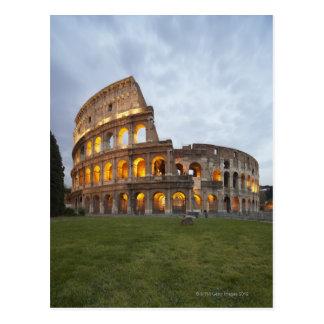 Postal Colosseum en Roma, Italia