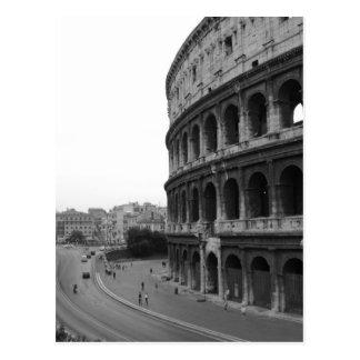 Postal Colosseum y camino