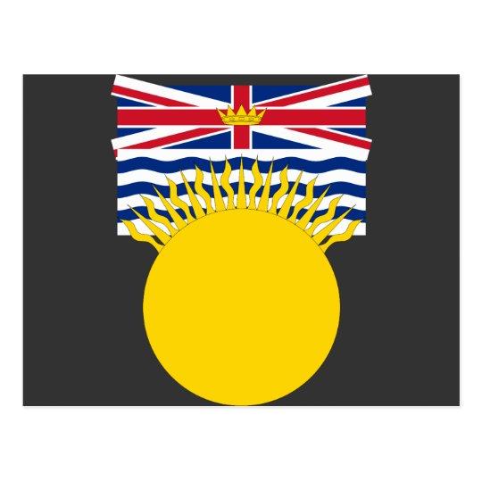 Postal Columbia Británica, Canadá