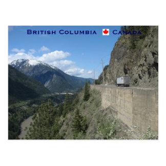 Postal Columbia Británica Canadá