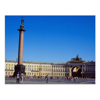 Postal Columna de Alexander, St Petersburg, Rusia