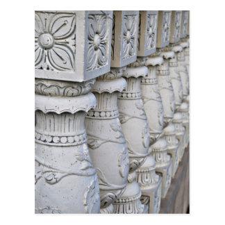 Postal Columnas arquitectónicas romanas