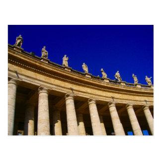 Postal columnas de vatican