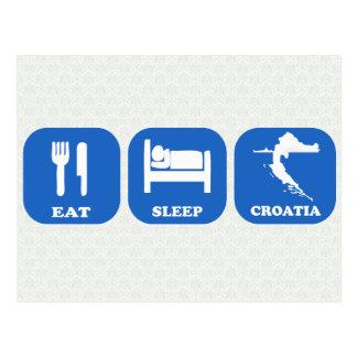 Postal Coma el sueño Croacia