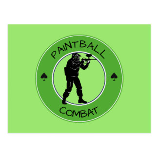 Postal Combate de Paintball