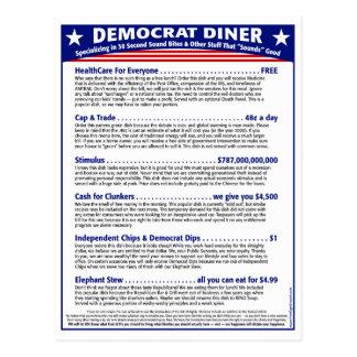 Postal Comensal de Demócrata
