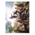 Postal Cometa del La (1778). Pintor Goya. De autor