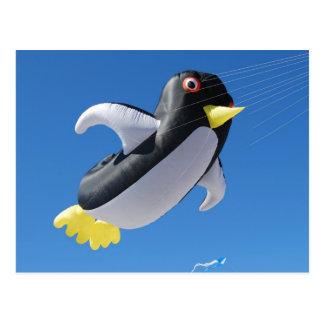 Postal Cometa del pingüino