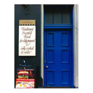 Postal Comida escocesa tradicional