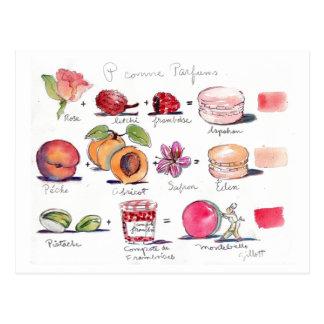 Postal Comme Parfum Macaron de P