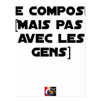 POSTAL COMPONGO (PERO NO CON LA GENTE) - JUEGOS DE