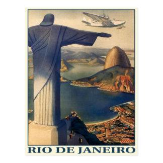 Postal con la impresión de Río de Janeiro del