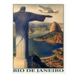 Postal con la impresión de Río de Janeiro del vint