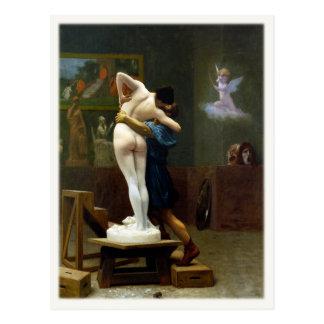 Postal con la pintura de Jean-León Gerome