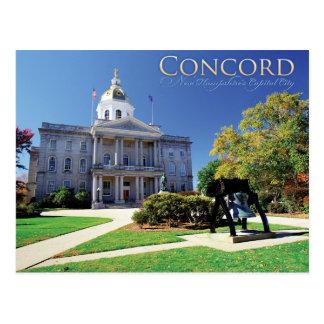 Postal Concordia New Hampshire