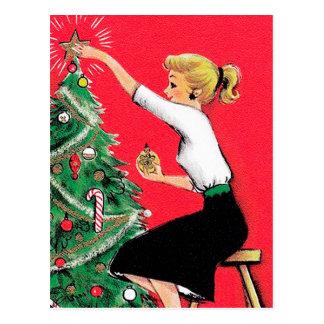 Postal Condensador de ajuste del árbol de navidad de los