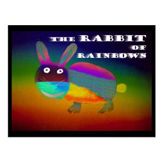 Postal Conejo de los arco iris [postal]