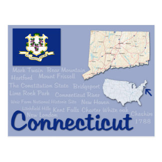 "Postal ""Connecticut """