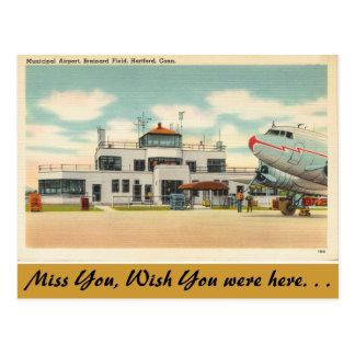 Postal Connecticut, aeropuerto municipal, Hartford