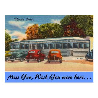 Postal Connecticut, comensal de Makris