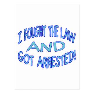 Postal Consiguieron arrestado