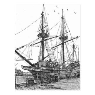 Postal Constante alto de Susan de la nave