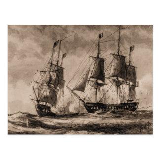 Postal Constelación de la nave de los E.E.U.U. en la