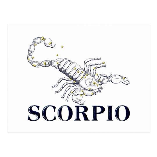 Postal Constelación: Escorpión