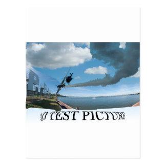Postal copia del panorama de Perth