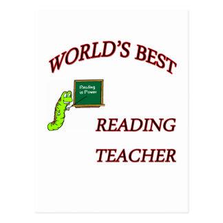 Postal Copia del profesor de lectura
