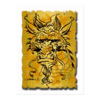 Postal Copia principal del dragón