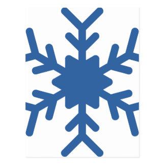 Postal Copo de nieve