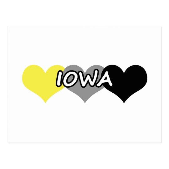 Postal Corazón de Iowa