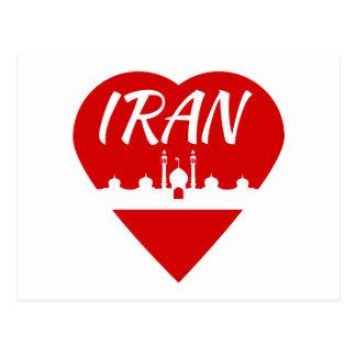 Postal Corazón de Irán