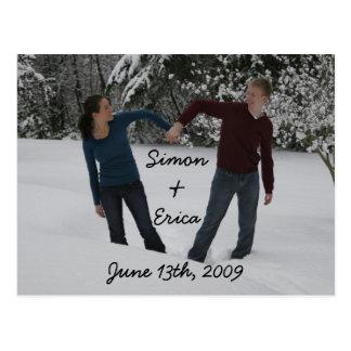 Postal corazón, &Erica de Simon, el 13 de junio de 2009