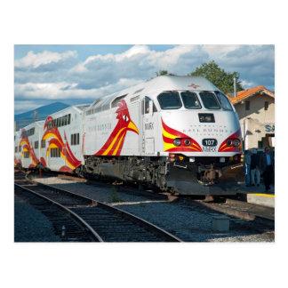 Postal Corredor del carril de New México expreso en Santa