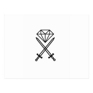Postal Corte del diamante